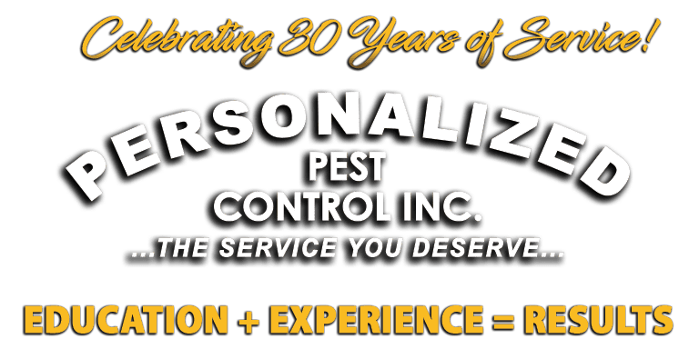 Personalized Pest Control Logo
