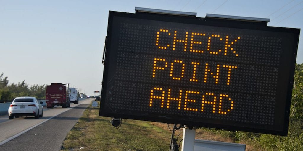 At coronavirus checkpoint, N.J. drivers being pulled off I-95 by Florida troopers