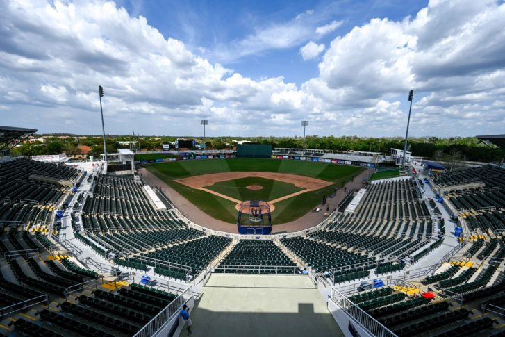 What needs to happen for baseball to start in Florida and Arizona?