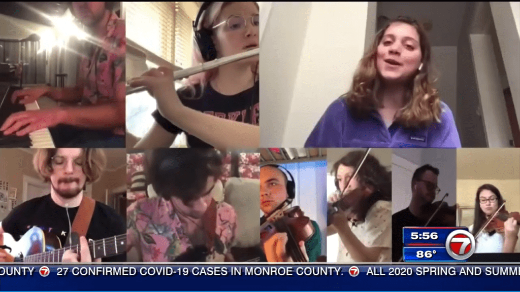 Student from South Florida behind viral orchestral performance