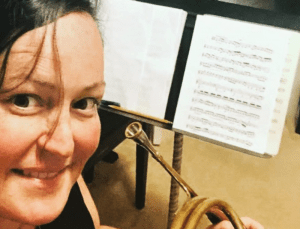 Miami-raised French Hornist Sharon Janezic