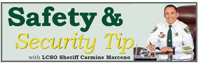 Safety & Security Tip - Lee County Sheriff's Office